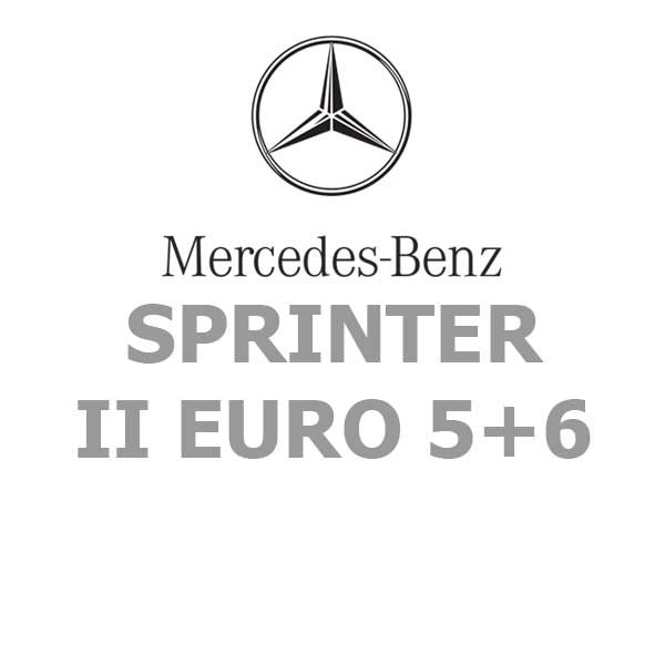 Mercedes-Benz SPRINTER II EURO 5+6